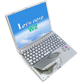Let's note CF-W2(CF-W2DW1AXS)【セットアップ済】【WindowsXP】